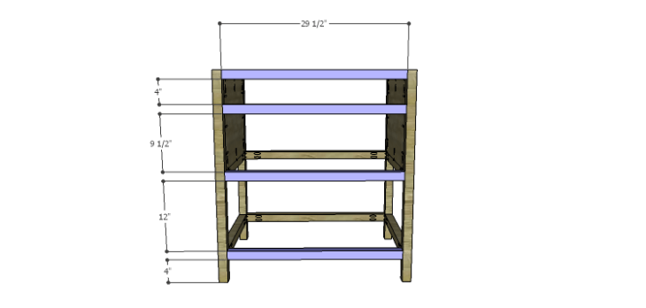DIY Plans to Build a Printmaker's Vanity-Front Stretchers