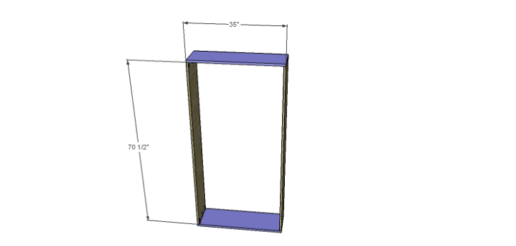 DIY Plans to Build a Massima Bookcase_Base Frame