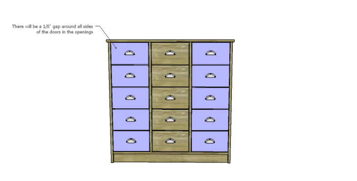 DIY Plans to Build a Howell Bar Cabinet_Doors