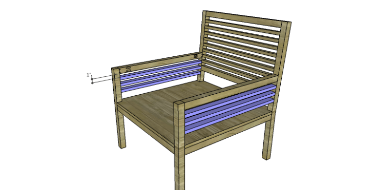 DIY Plans to Build the Java Chair_Side Slats 2