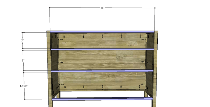 Plans to Build a Drake Chest_Front Stretchers