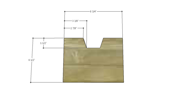 Plans to Build a Drake Chest_Top Center Drawer Front