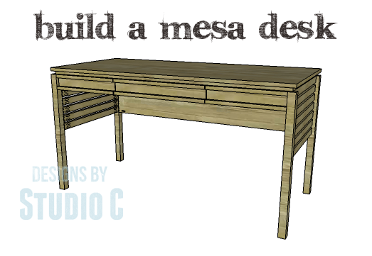 DIY Plans to Build a Mesa Desk-Copy