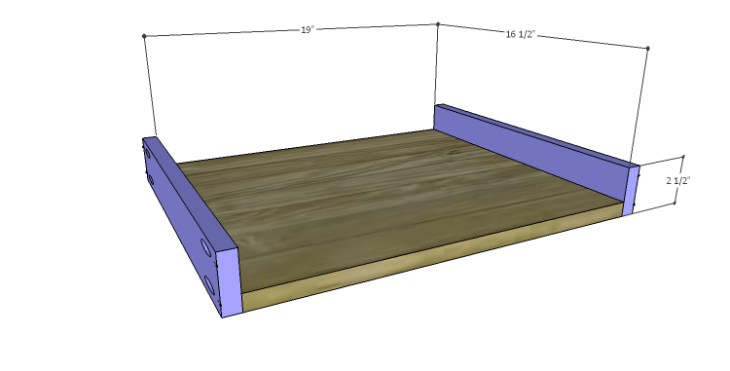 DIY Plans to Build a Mesa Desk-Drawer BS
