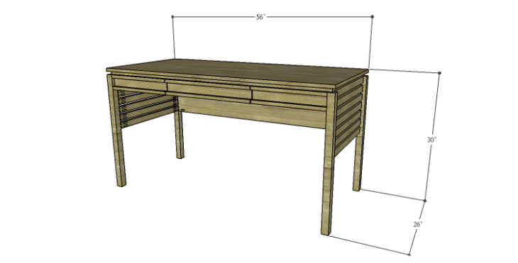 DIY Plans to Build a Mesa Desk