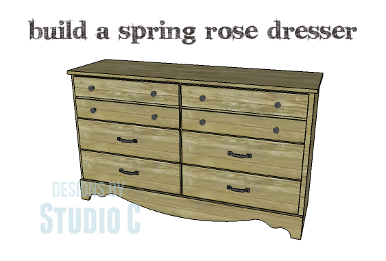 DIY Plans to Build a Spring Rose Dresser-Copy