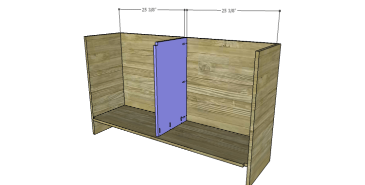 DIY Plans to Build a Spring Rose Dresser-Divider 2