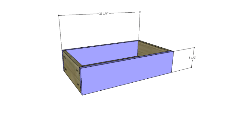 DIY Plans to Build a Spring Rose Dresser-Sm Drawer FB