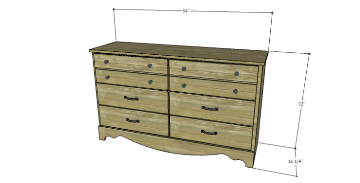 DIY Plans to Build a Spring Rose Dresser