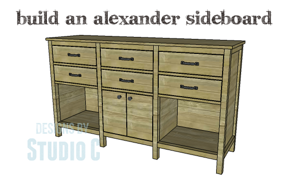 DIY Plans to Build an Alexander Sideboard_Copy