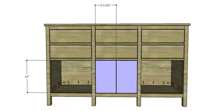 DIY Plans to Build an Alexander Sideboard_Doors