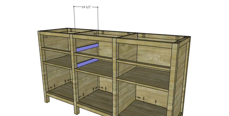 DIY Plans to Build an Alexander Sideboard_Spacers