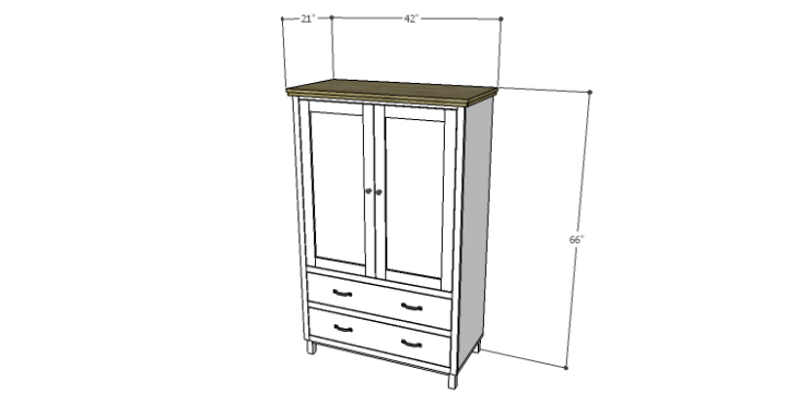 DIY Plans to Build a Starling Armoire