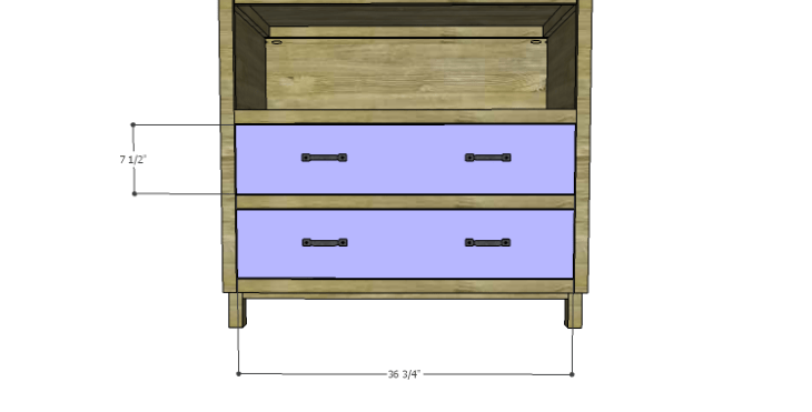 DIY Plans to Build a Starling Armoire_Drawer Fronts