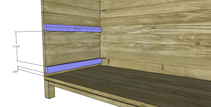 DIY Plans to Build a Starling Armoire_Drawer Slide Spacers