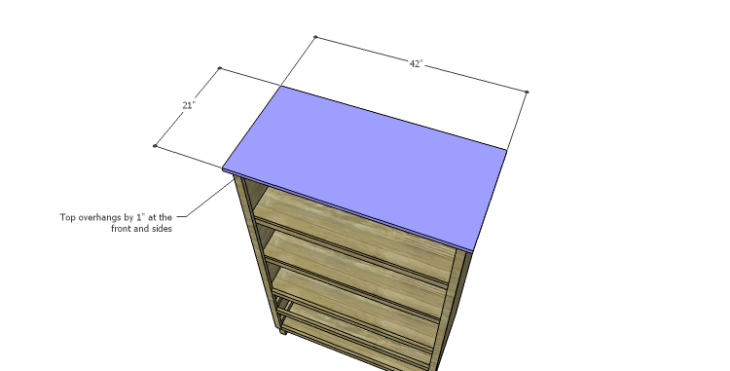 DIY Plans to Build a Starling Armoire_Top