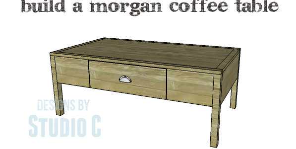 A Simple Coffee Table To Build With Storage - Build a simple coffee table