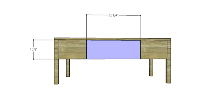 DIY Plans to Build a Morgan Coffee Table_Drawer Front