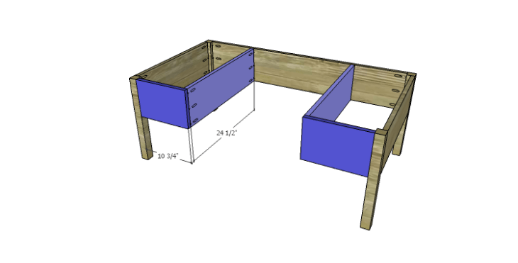 DIY Plans to Build a Morgan Coffee Table_Front Apron & Drawer Supports