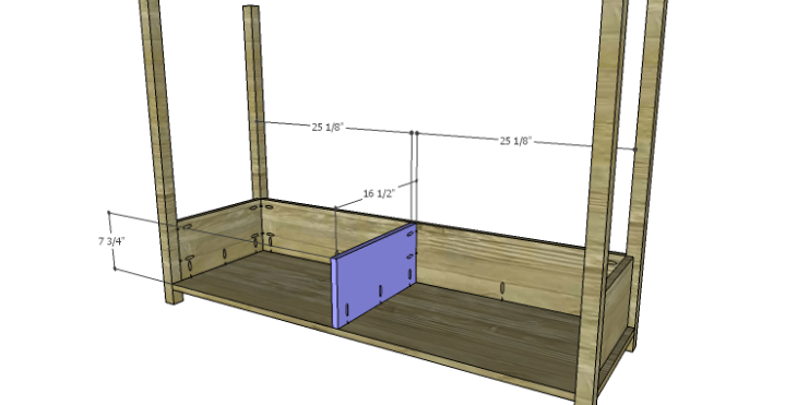 DIY Plans to Build an Edinburgh Console Table_Lower Divider