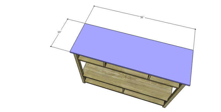 DIY Plans to Build an Edinburgh Console Table_Top
