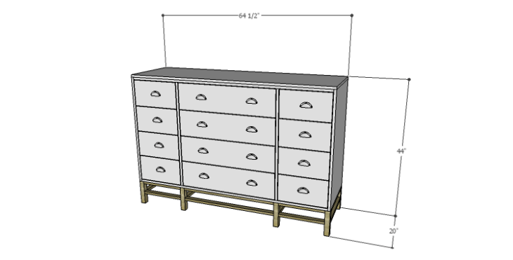 DIY Plans to Build a Serenity Dresser