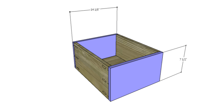 DIY Plans to Build a Serenity Dresser_Smaller Drawer FB