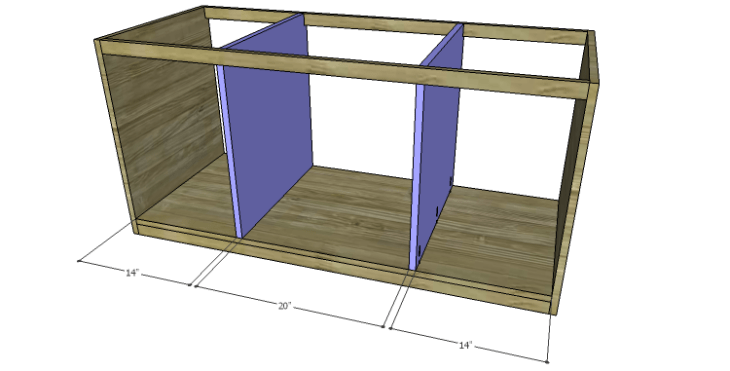 DIY Plans to Build a Piedmont Media Console_Divider 2