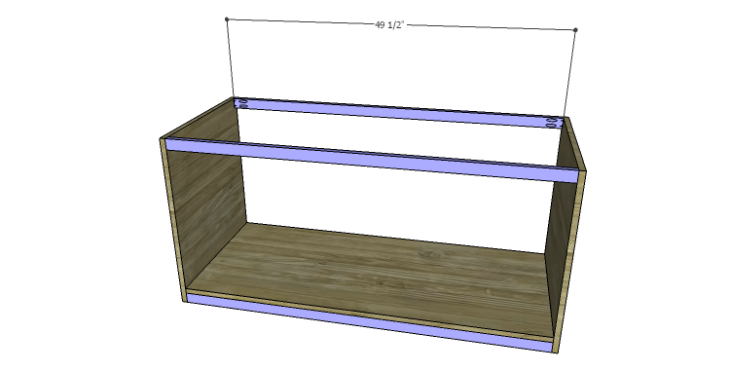 DIY Plans to Build a Piedmont Media Console_Stretchers & Supports