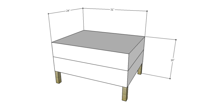 DIY Plans to Build the Carlsbad Ottoman
