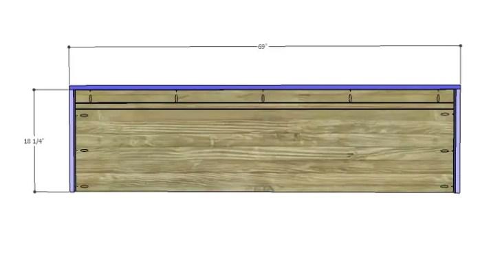 DIY Plans to Build a Slat-Door Sideboard_Top 2