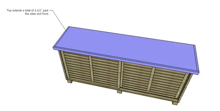 DIY Plans to Build a Slat-Door Sideboard_Top 3