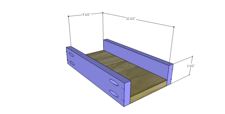 DIY Plans to Build a Magnolia Vanity Table_Drawer BS