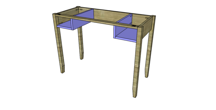 DIY Plans to Build a Magnolia Vanity Table_Drawer Cubby 2