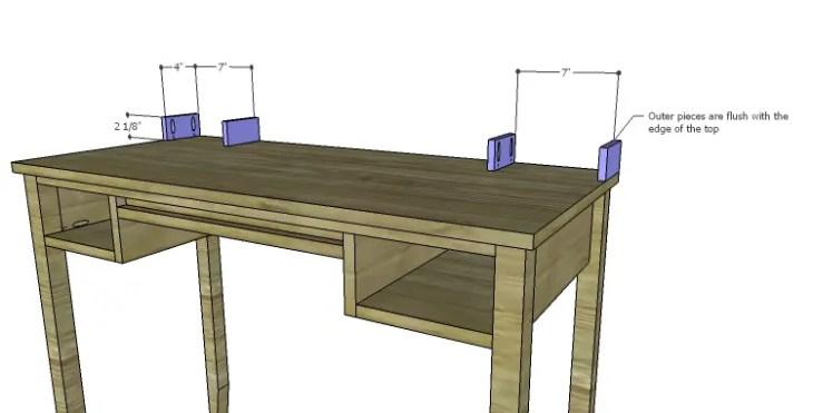 DIY Plans to Build a Magnolia Vanity Table_Upper Drawer Sides