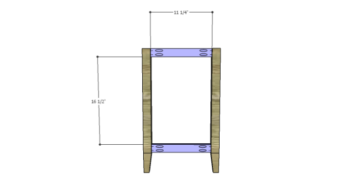 DIY Plans to Build a McKenzie Bar Stool_Sides