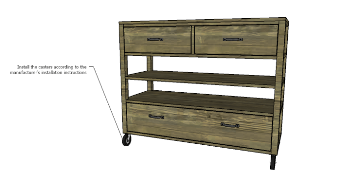 DIY Plans to Build a River Crest Media Chest_Casters