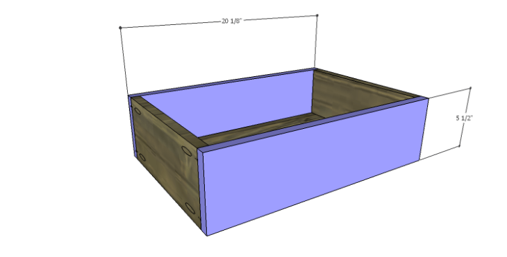 DIY Plans to Build a River Crest Media Chest_Small Drawer FB