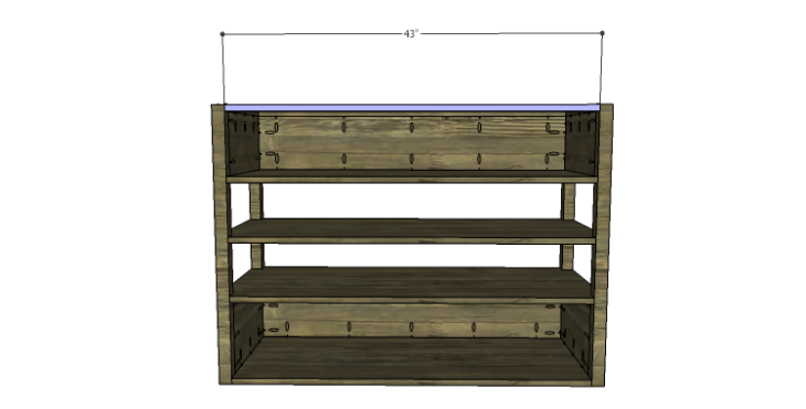 DIY Plans to Build a River Crest Media Chest_Stretcher