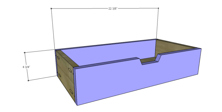 DIY Plans to Build a Rolling Storage Cubby_Drawers FB