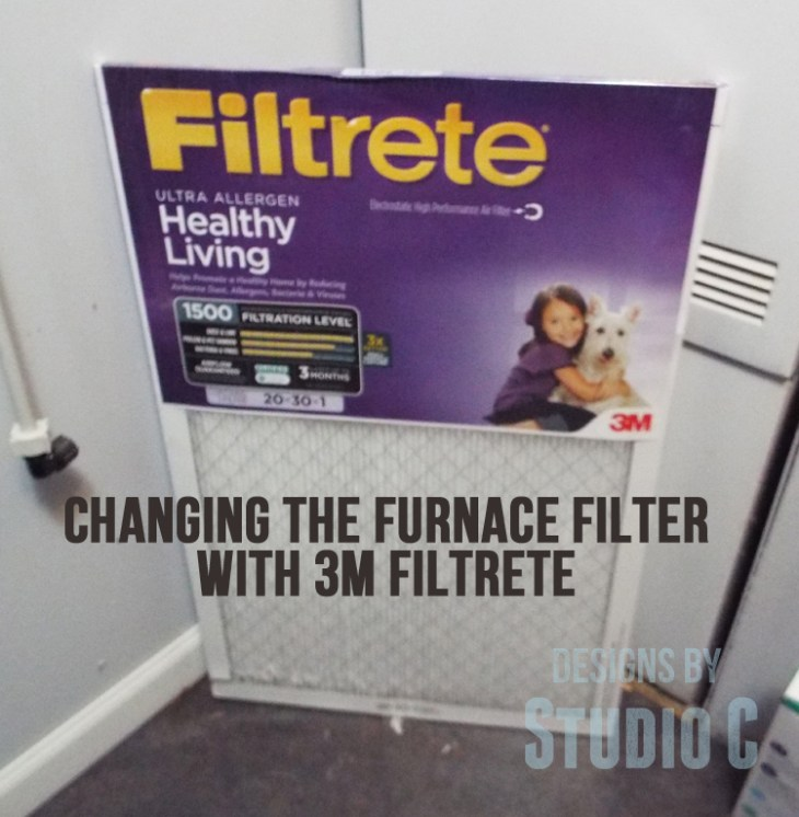 Changing a Furnace Filter with 3M Filtrete new