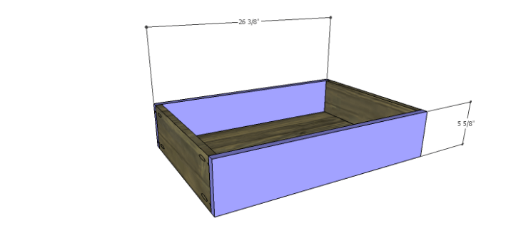 DIY Plans to Build the Ava Chest of Drawers_Lg Drawer FB