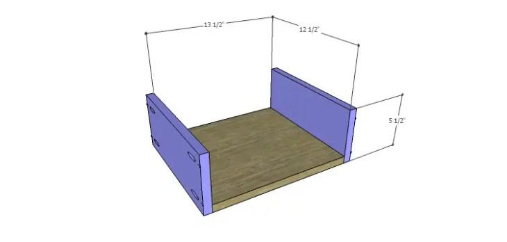 DIY Plans to Build a Mismatched Dresser_Drawer 3 BS