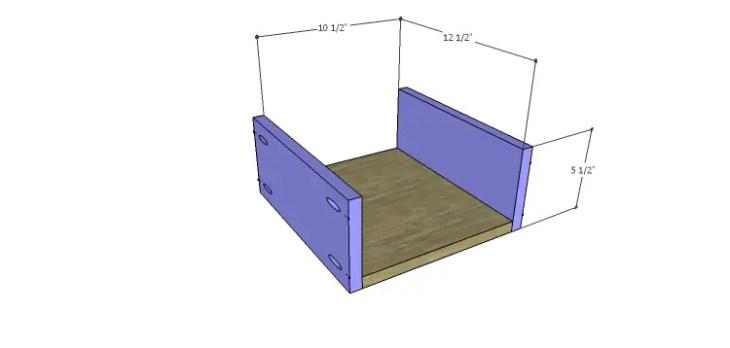 DIY Plans to Build a Mismatched Dresser_Drawer 4 BS
