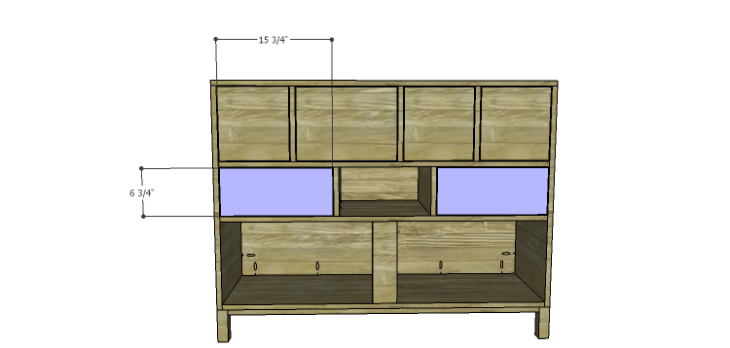 DIY Plans to Build a Mismatched Dresser_Drawer Front 3