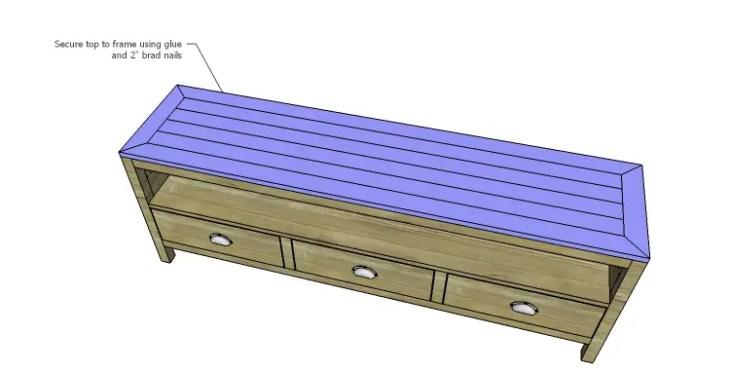 DIY Plans to Build a Jamie Media Console_Top 2