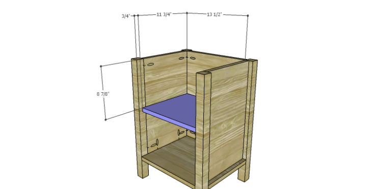 DIY Plans to Build a Valerie Nightstand_Shelf