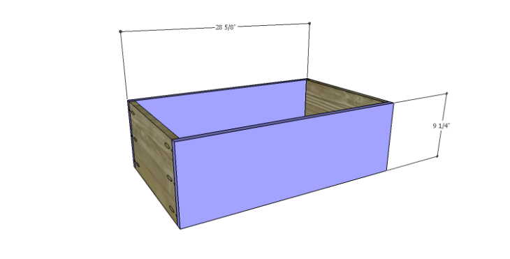 DIY Plans to Build a Forester Sideboard_Drawer FB