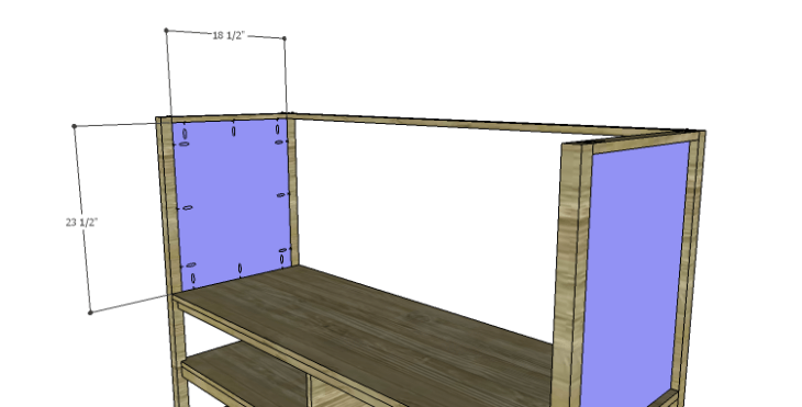 DIY Plans to Build a Forester Sideboard_Upper Sides