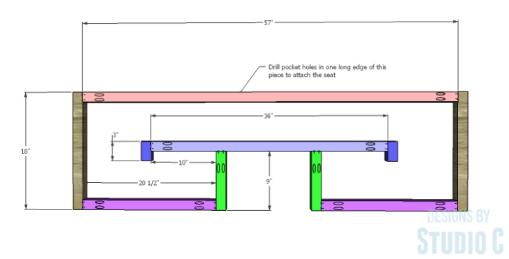 DIY Plans to Build a Lilley Bench_Frame